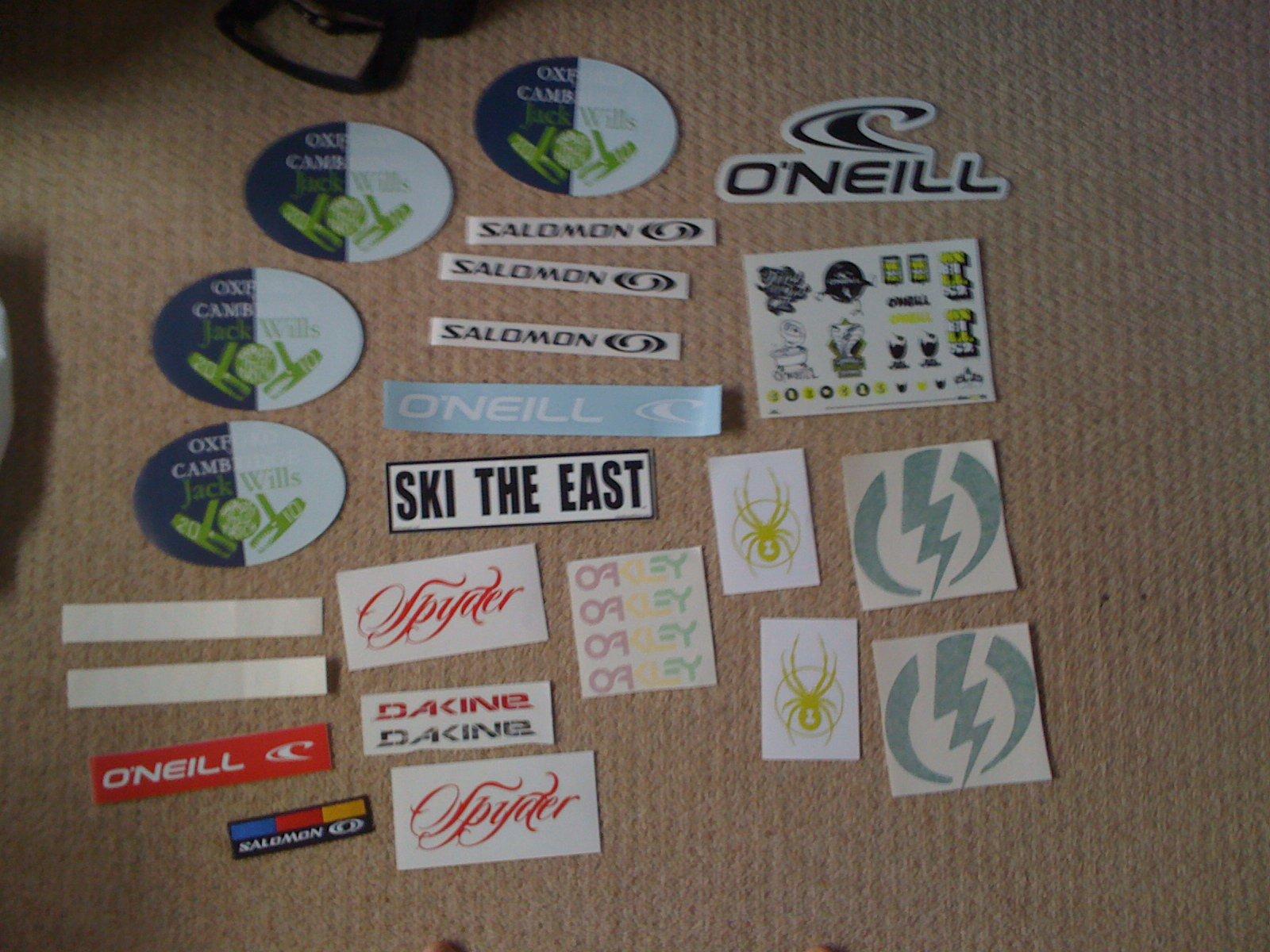 Big stickers