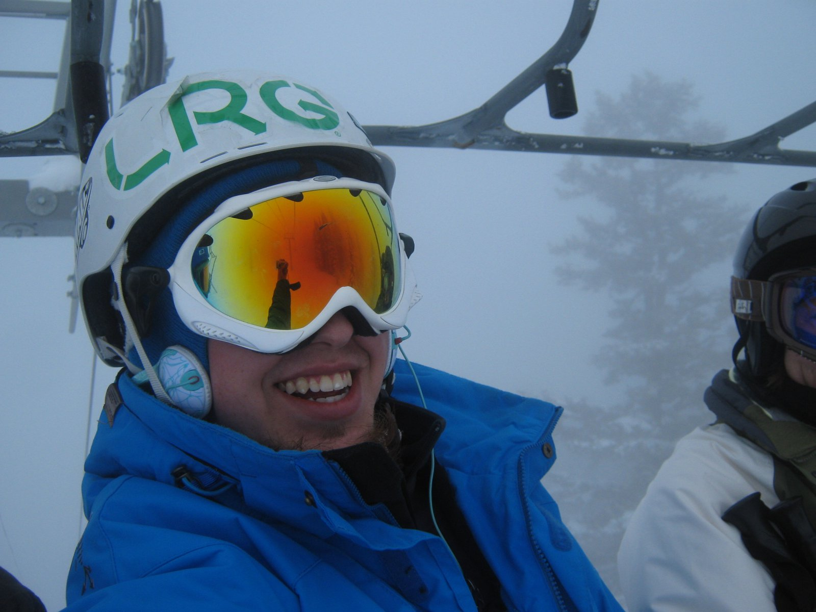 Me on the lift