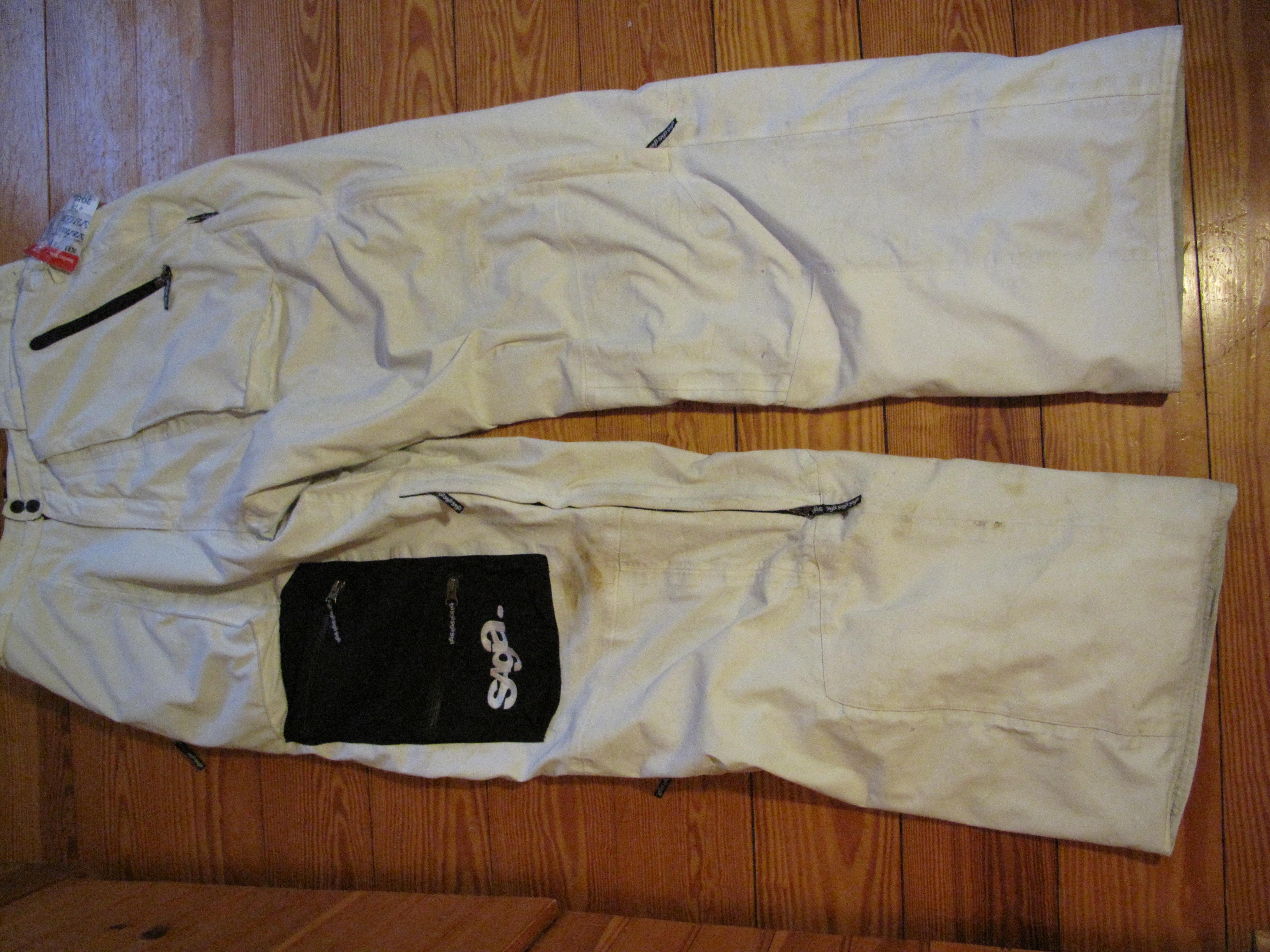 Xl saga white pants
