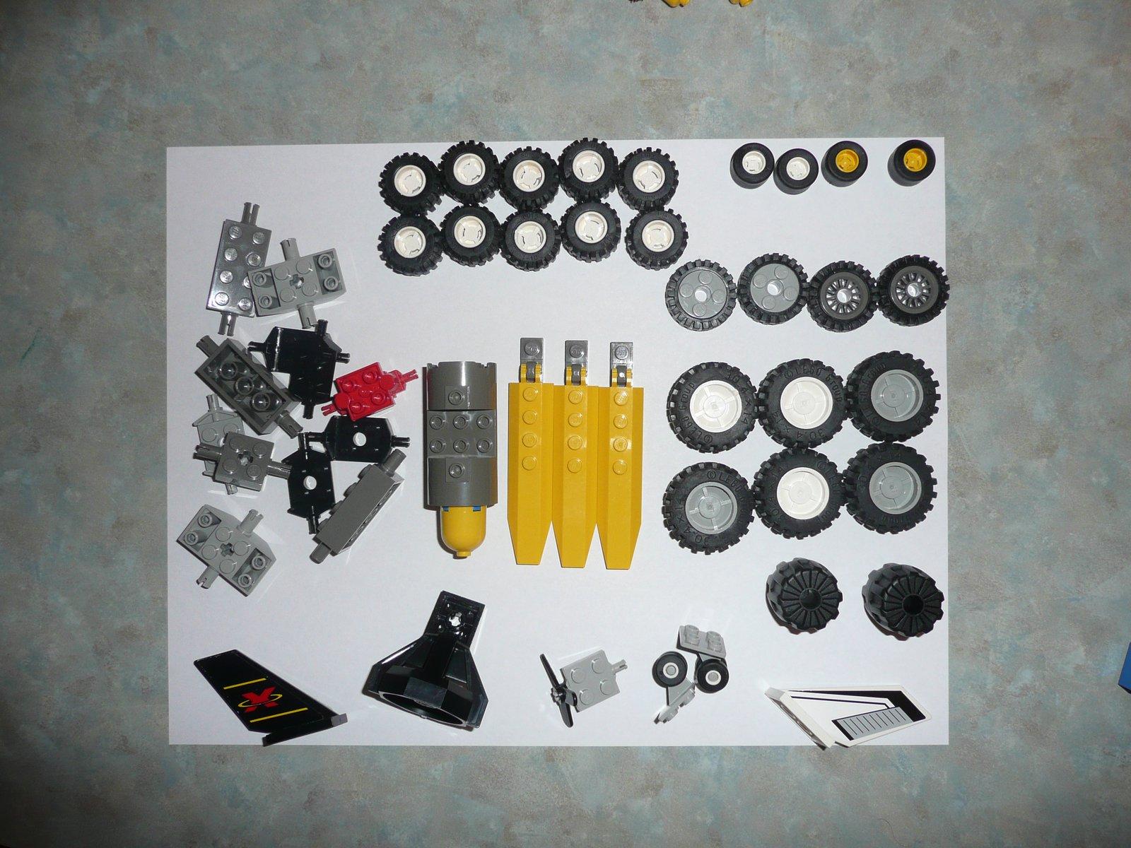 Wheels, Wheel Mounts, Propellers