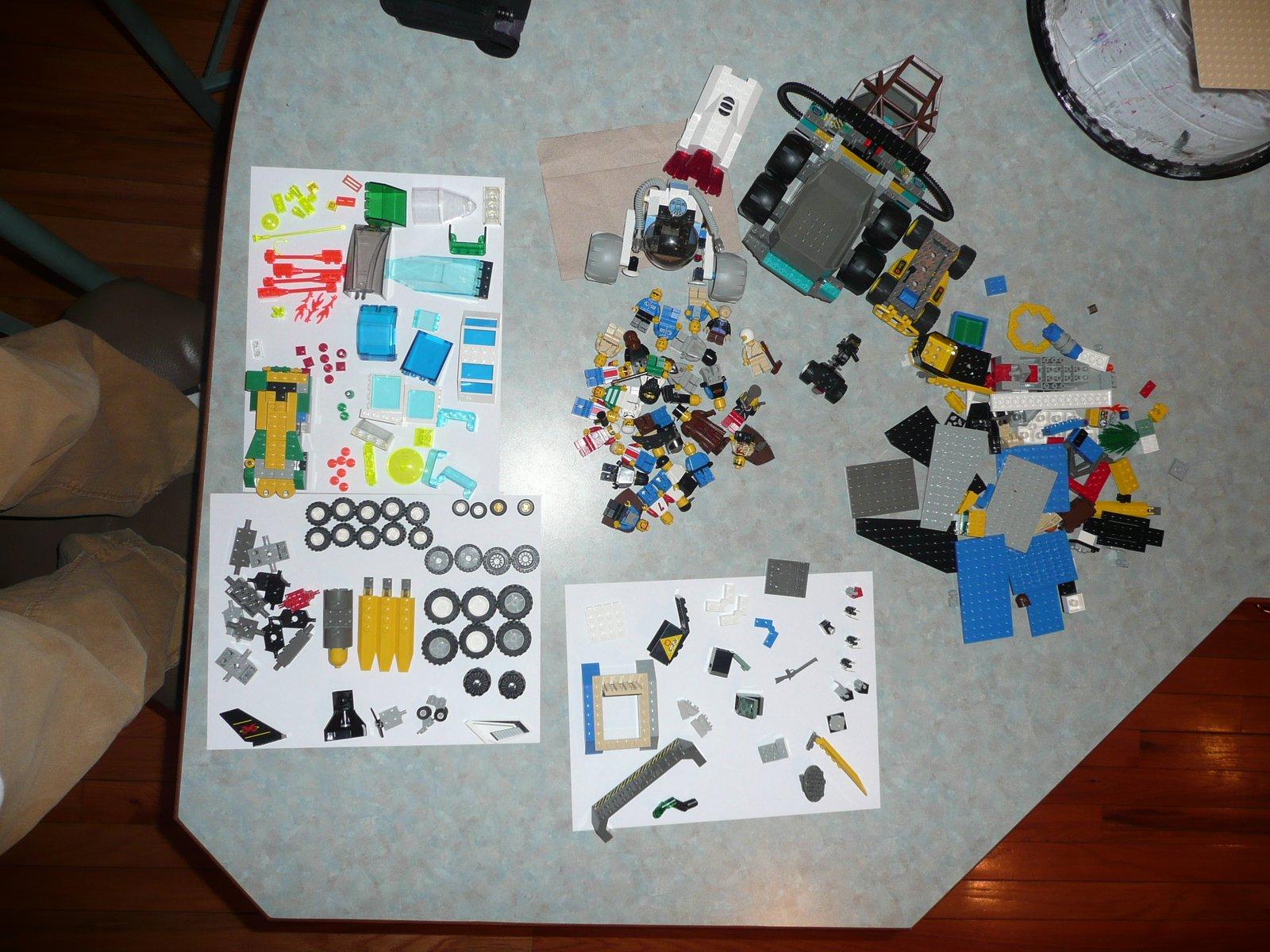 A lot of legos