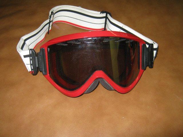 Red Scott Goggles