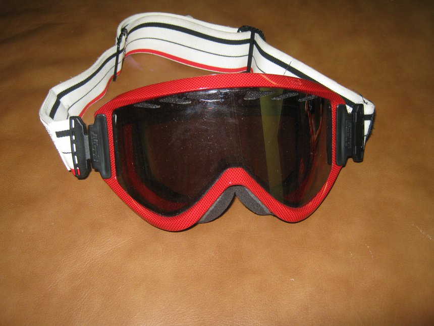 Red Scott Goggles