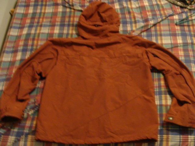 Back of burton jacket