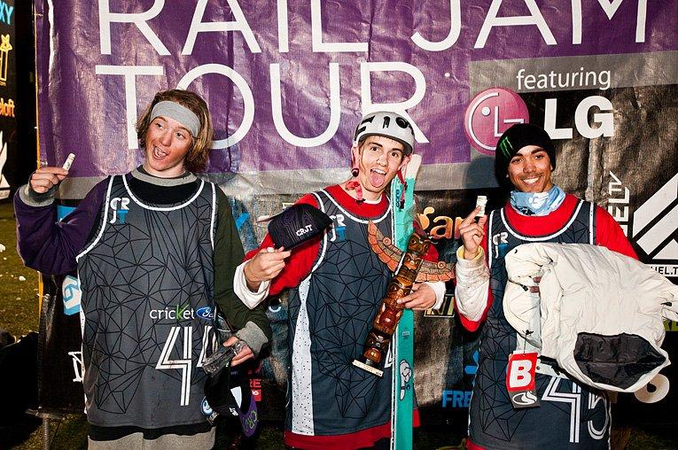 Ian Hamilton Wins Campus Rail Jam - Gonzaga