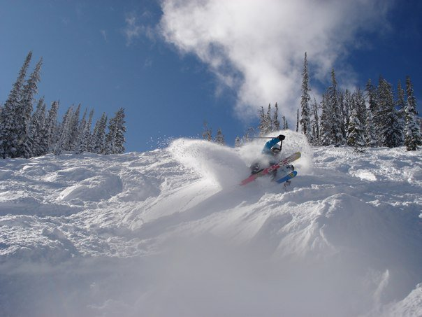 Pow at Kicking horse