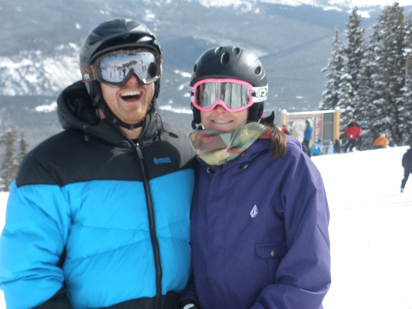 Me and bob at Breck