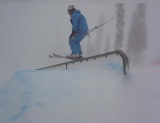Big White rail