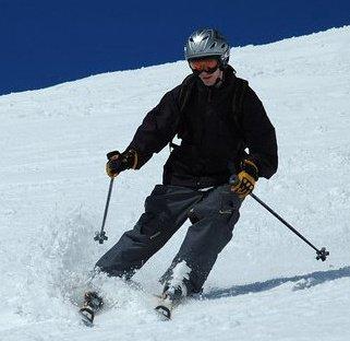 Spring skiing at Hood