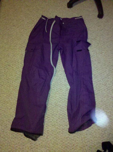 Purple Orage Pants XL