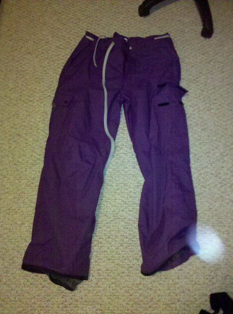 Purple Orage Pants XL