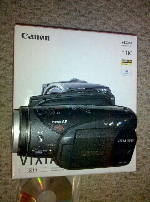 Canona HV30