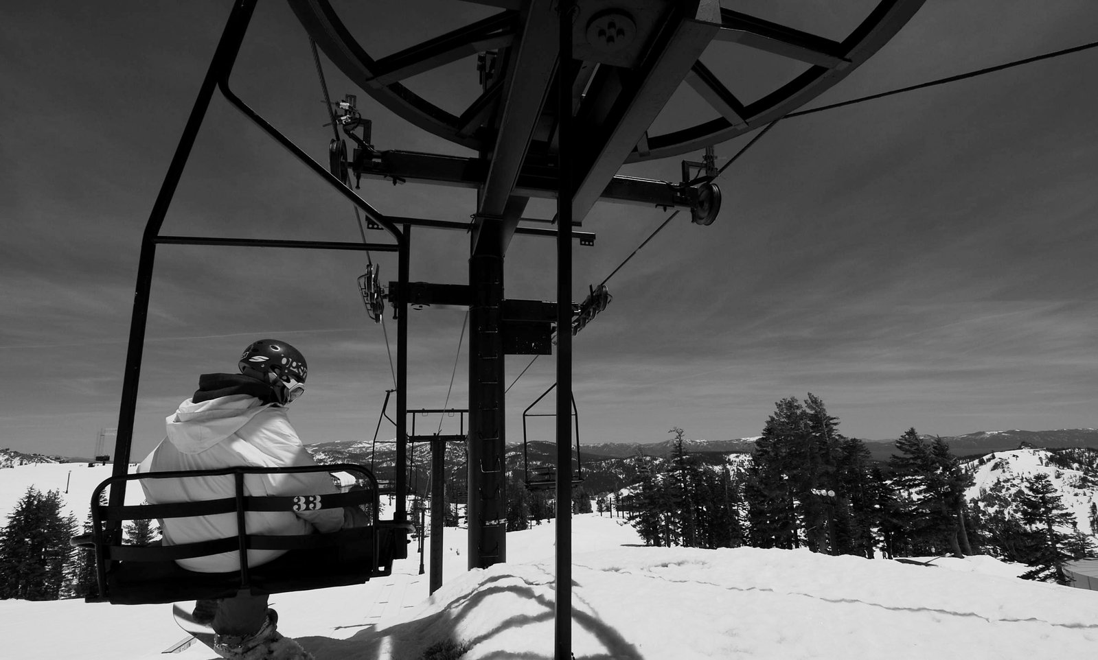 My buddy on the last day at Squaw