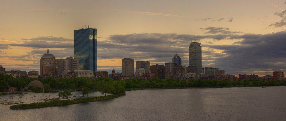Boston Skyline HDR