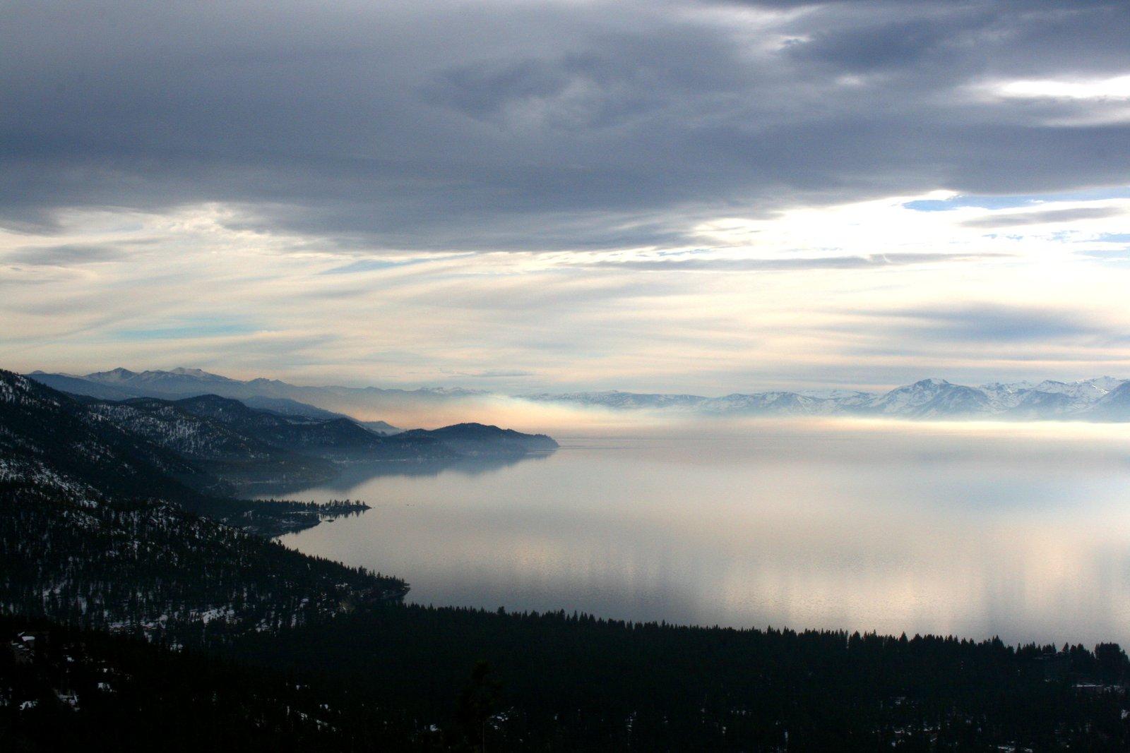 An eerie Lake Tahoe