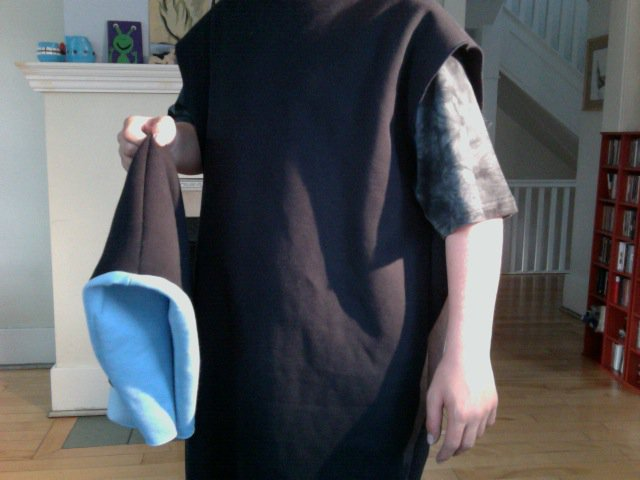 Vest in progress