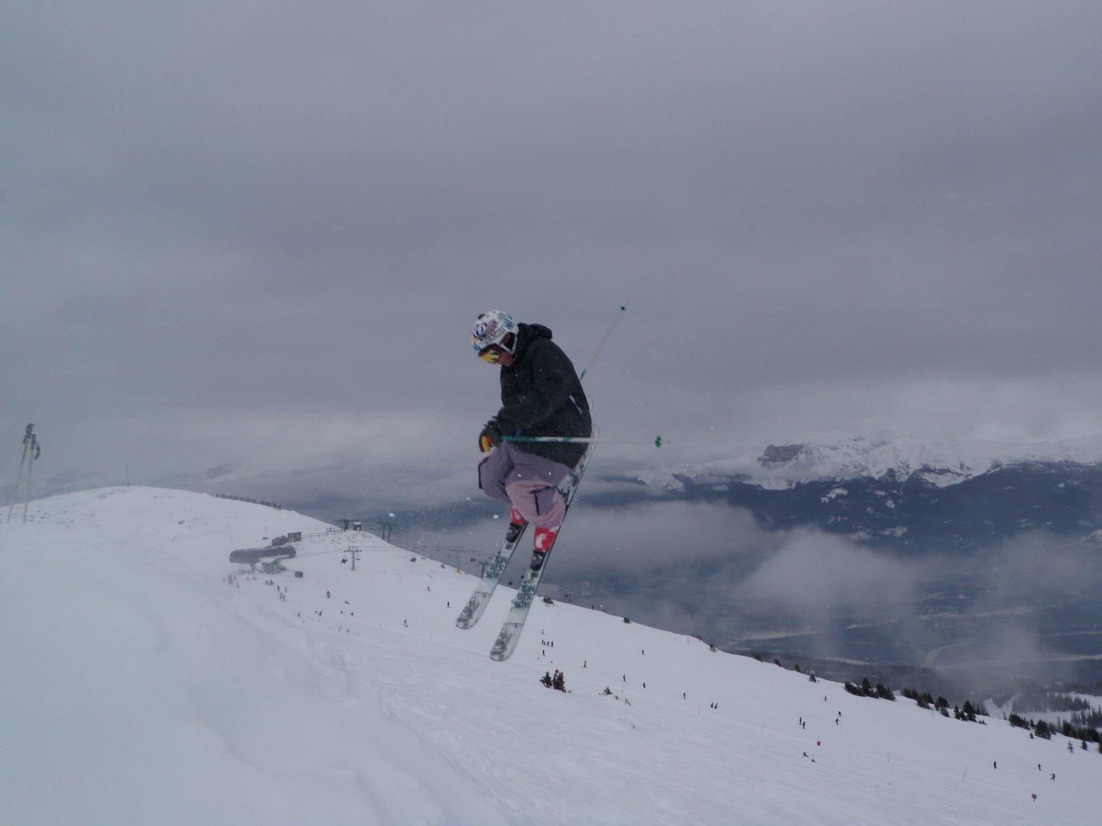 Rental skis sesh