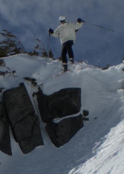 Cliff at mt hood