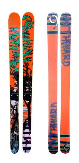 My pow skis