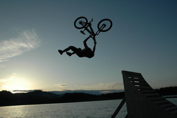 Jump in action