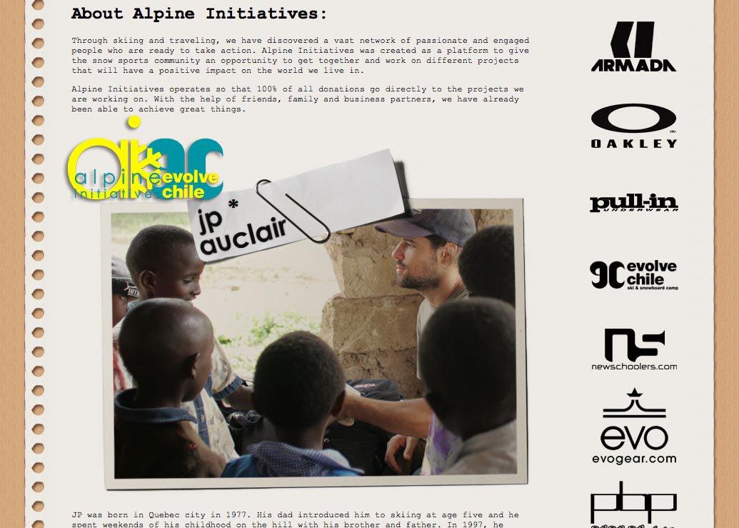 Alpine Initiatives & Evolve Chile