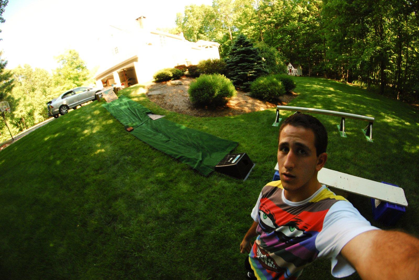 Summer setup.