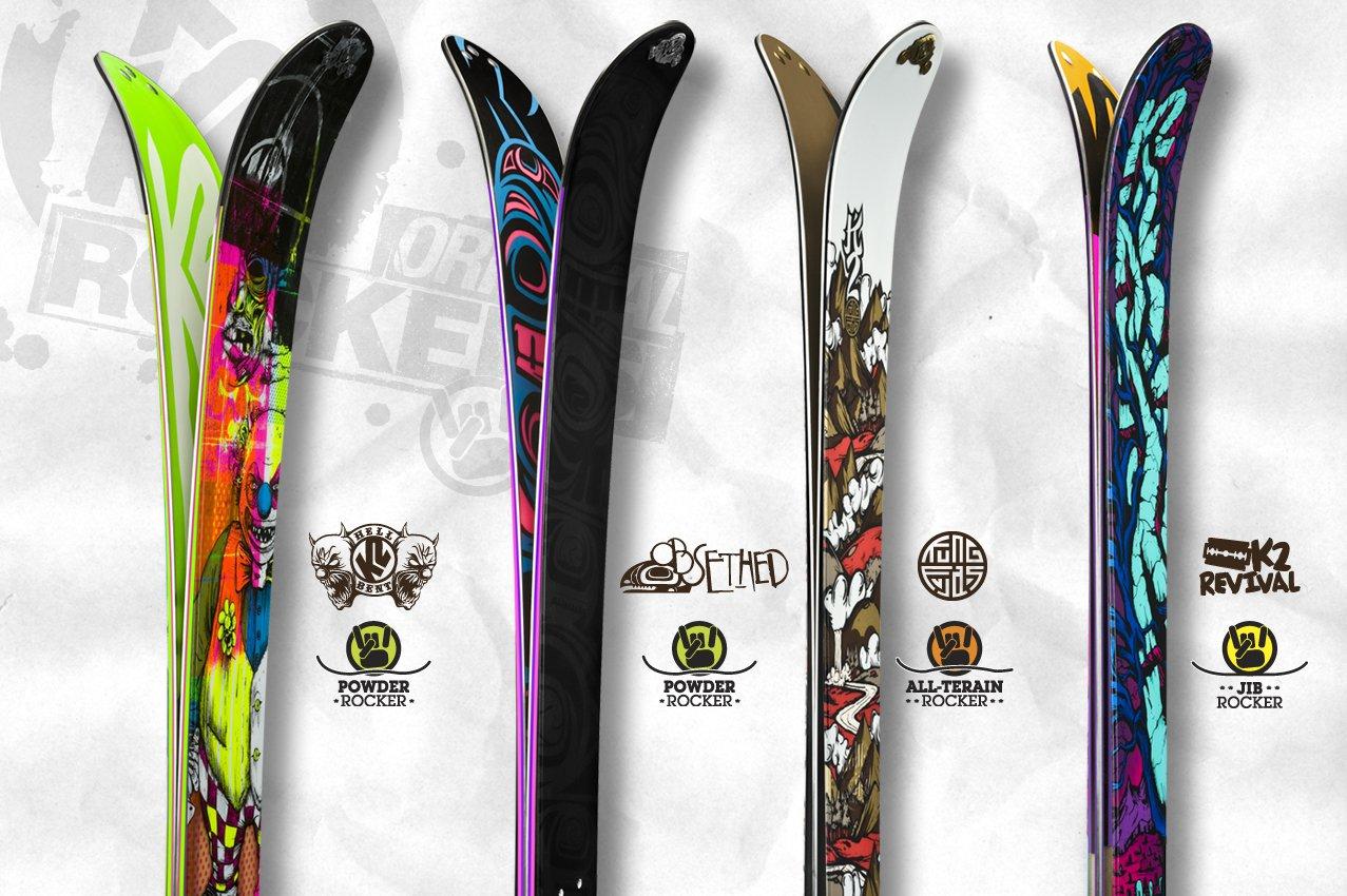 The new K2 Rocker Profiles