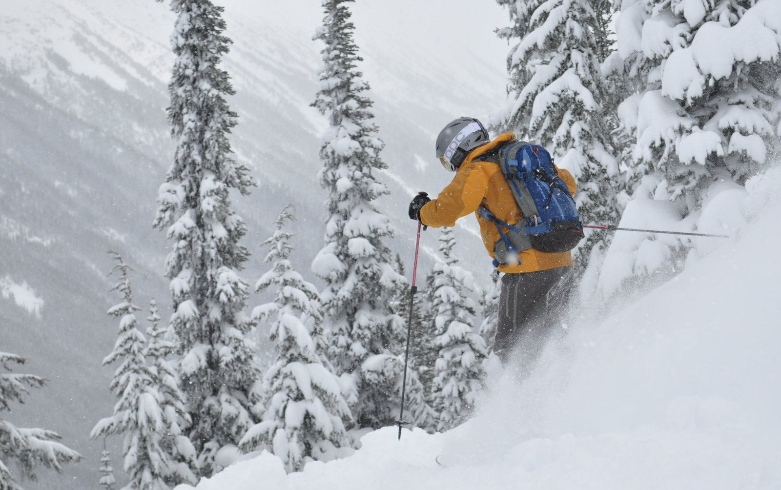 Powder in April, Whistler, BC