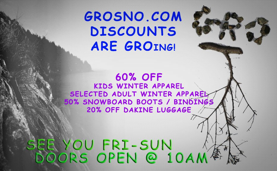 GROing discounts....