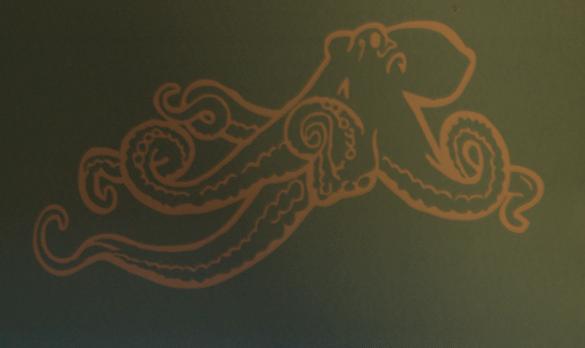 Custom Octopus Diecut