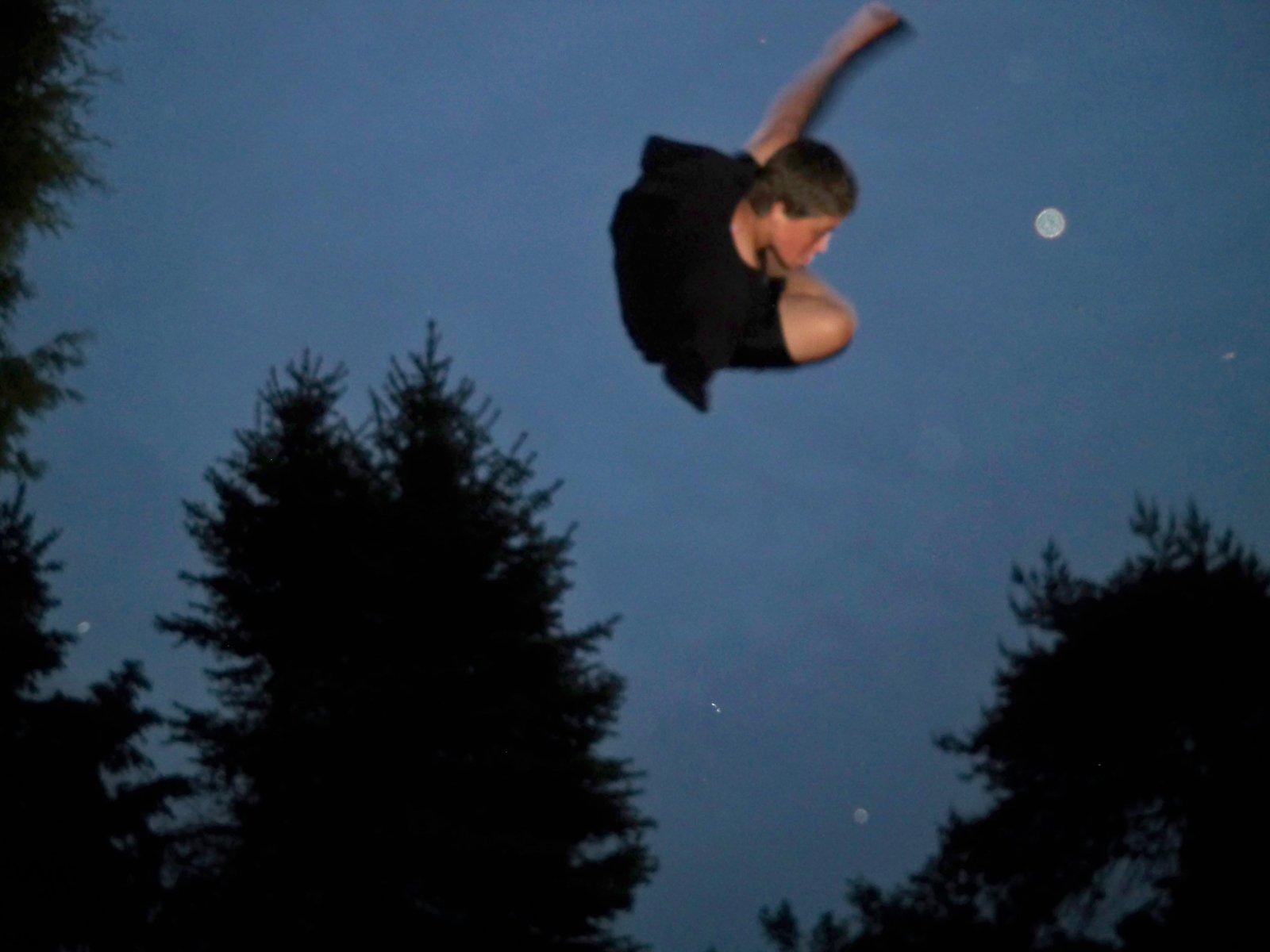 Night Flat Spin
