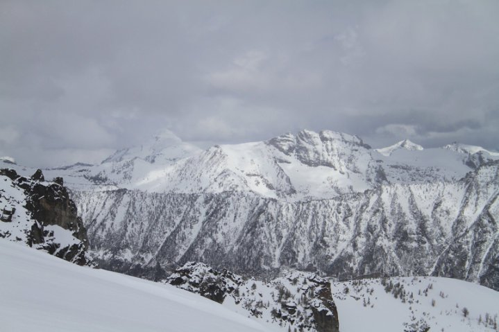 Lookng north from trapper peak