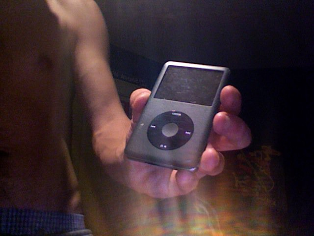 Feeler. 120Gig Apple Ipod.
