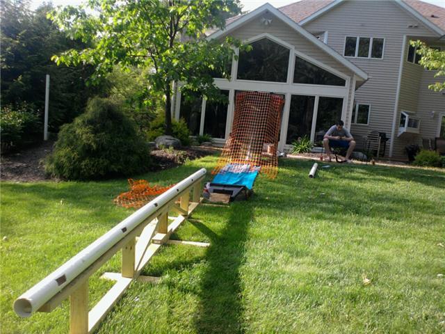 Summer set up... first day