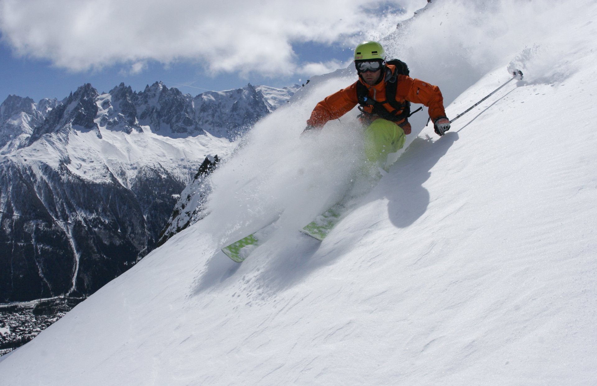 Steep Pow in Cham