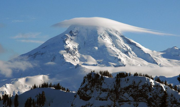 Mt. Baker dome cloud
