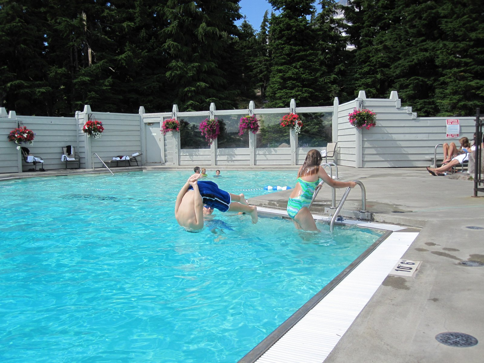 Pool at Timberline