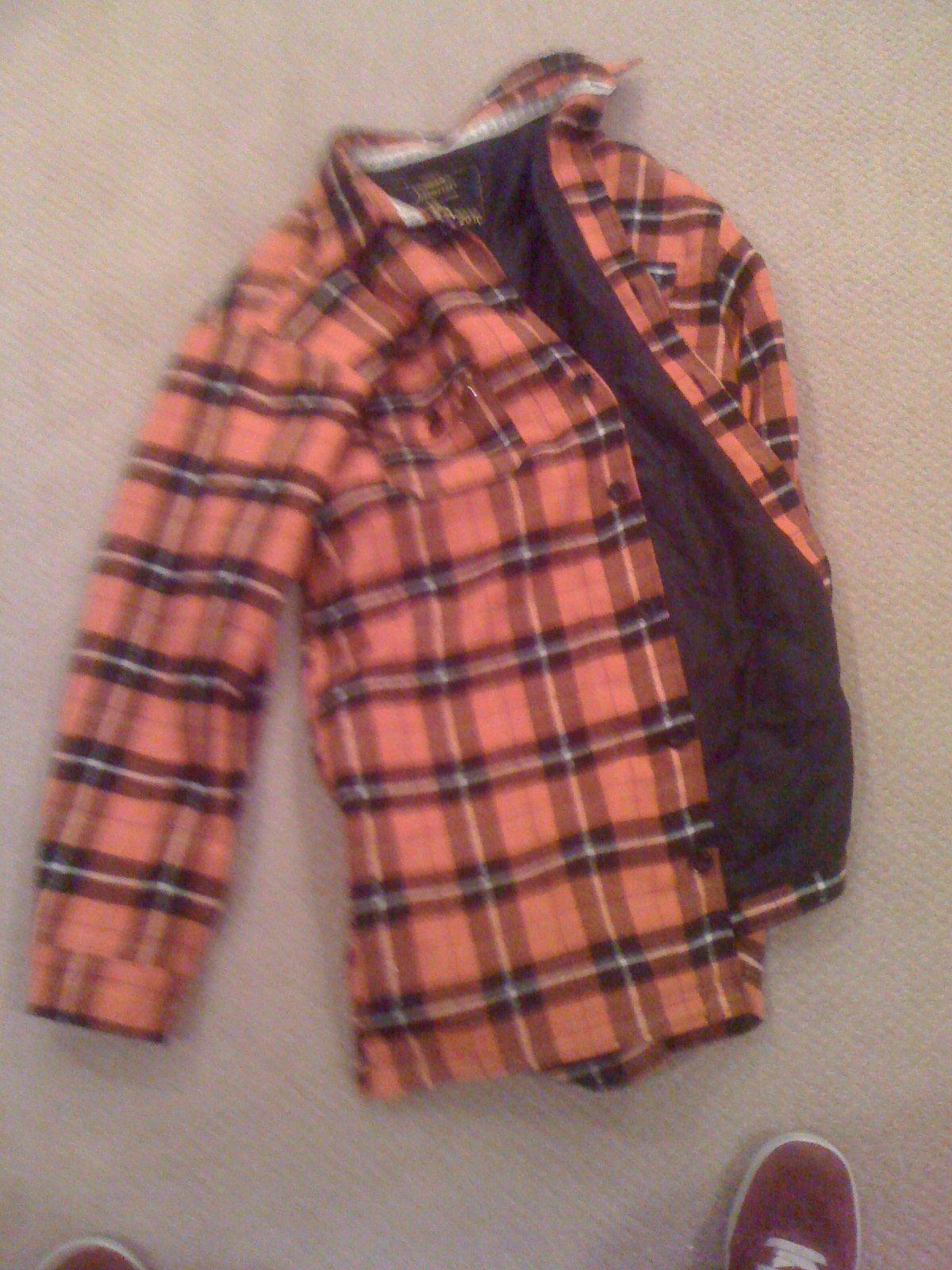 3xl Orange Flannel