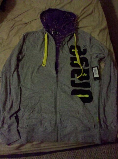 Orage XL Bears hoodie NWT