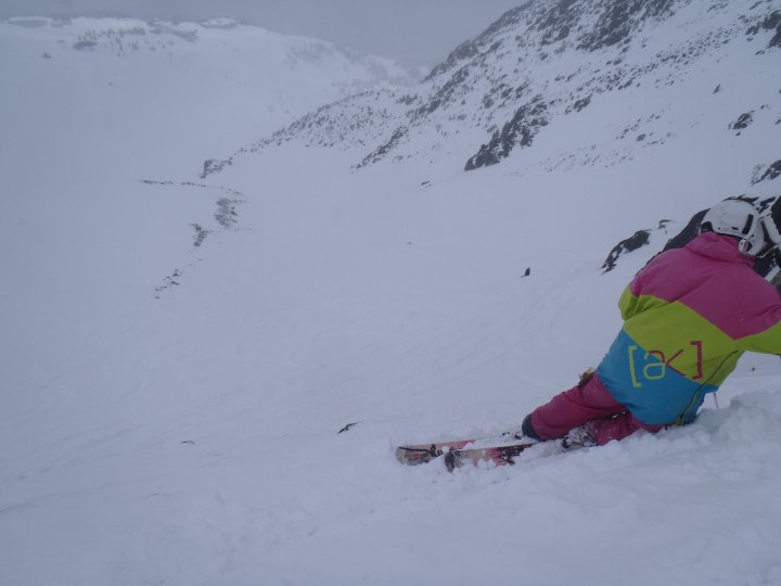 On thin snow 2