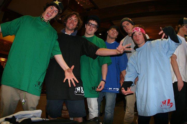 Some random skiers