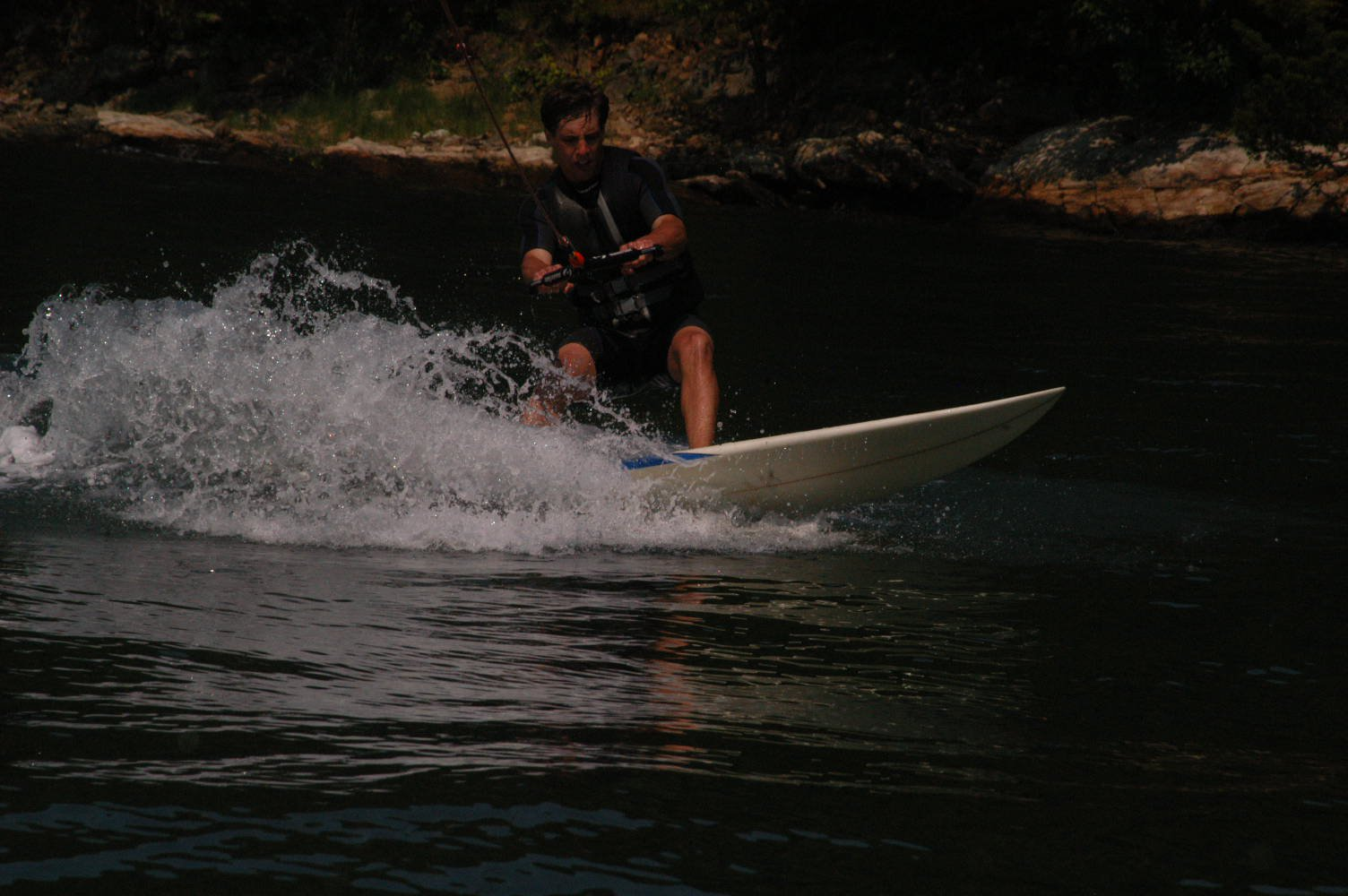 Surfing Behind a Boat