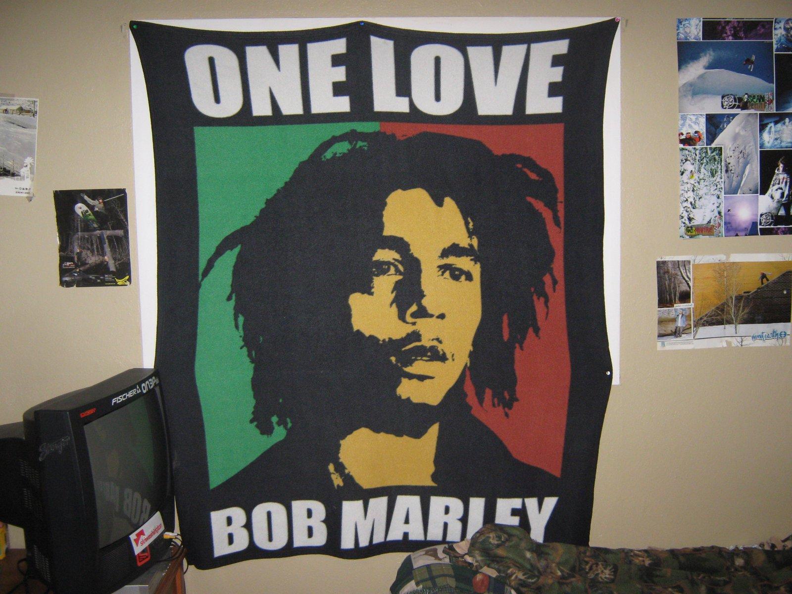 Bob marley blanket/banner