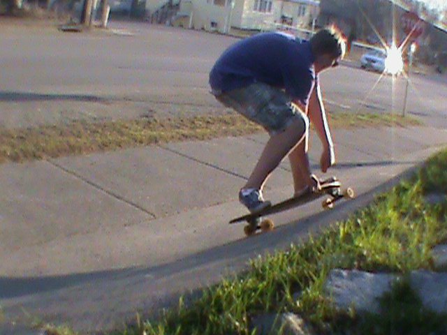 Early summer longboard sesh