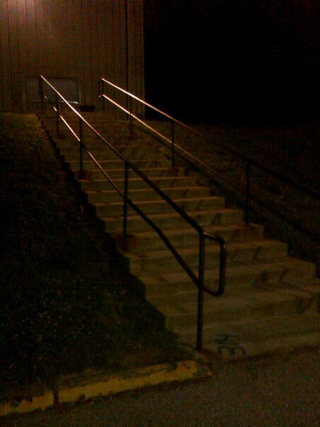Concession Stand Rail