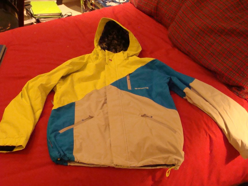 Quicksilver Shred Flanders Jacket Large