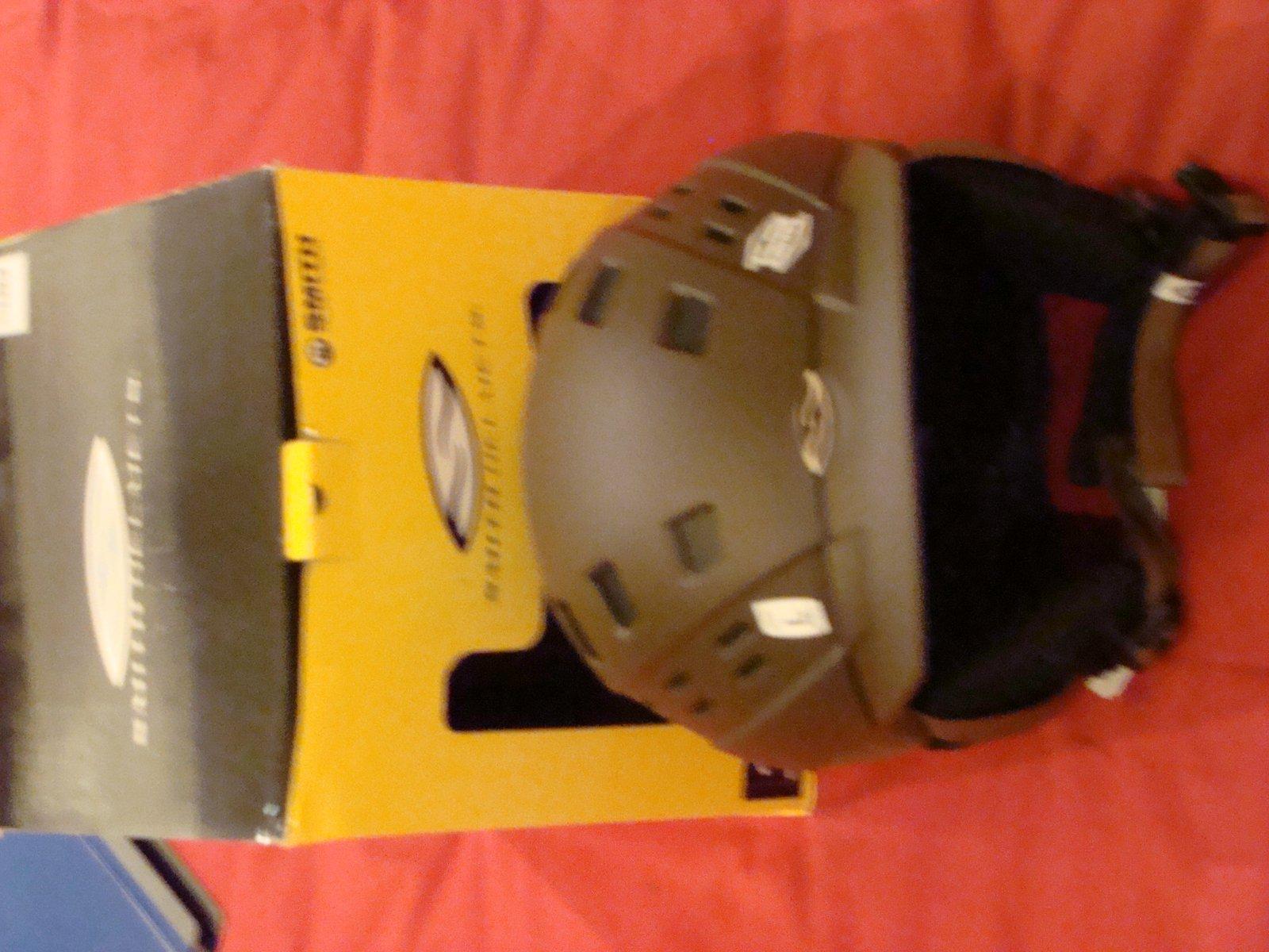 Smith Variant Brim Helmet Large (Brown)