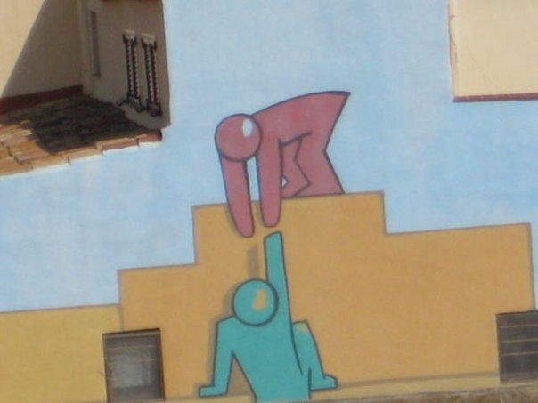 Cool Wall Art in Spain