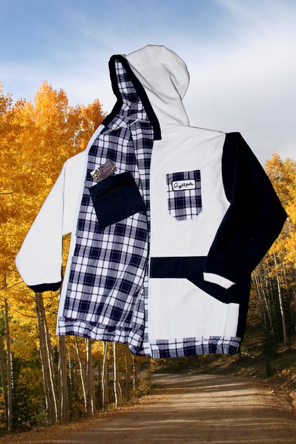 Lightpole Fall Hoody (Inside/out)