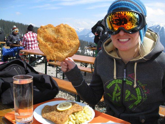 Heart Shaped Schnitzel